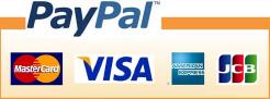 Paypal VISA/JSC/MasterCard/AMERICAN EXPRASS